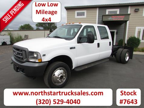2002 Ford F-450 4x4 Cab Chassis  in St Cloud, MN