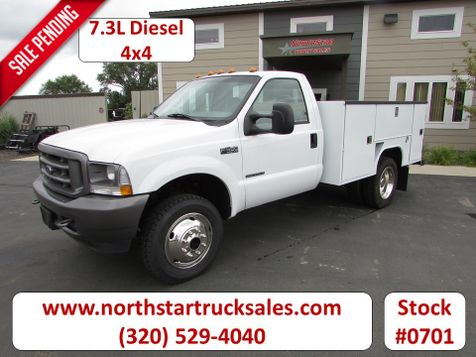 2002 Ford F-450 4x4 Service Utility Truck  in St Cloud, MN