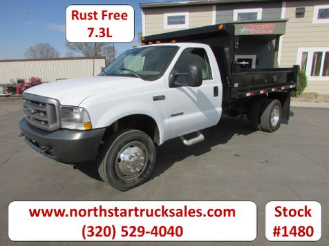2002 Ford F-450 7.3 Reg Cab with a 11' Dump  in St Cloud, MN