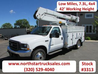 2002 Ford F-550 73 4x4 42 Working Height Bucket Truck   St Cloud MN  NorthStar Truck Sales  in St Cloud, MN