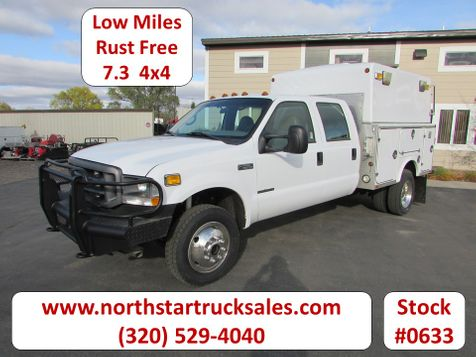 2002 Ford F-550 7.3 4x4 Crew-Cab Service Utility Truck  in St Cloud, MN