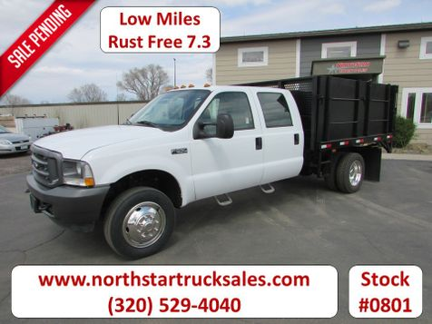 2002 Ford F-550 7.3 Crew Cab Tipper Flatbed  in St Cloud, MN