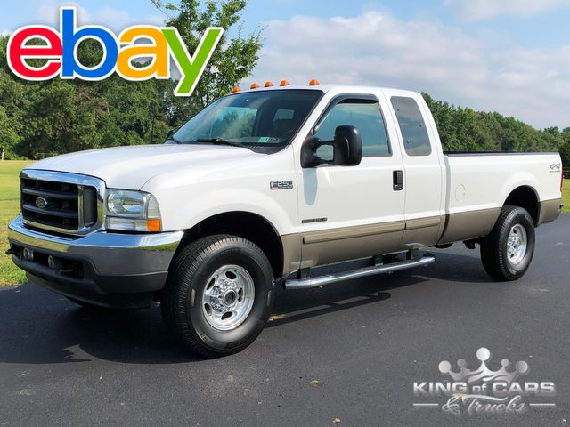 2002 Ford F250 7.3l Diesel 4X4 LARIAT SUPERCAB 8' BED LOW MILES WOW
