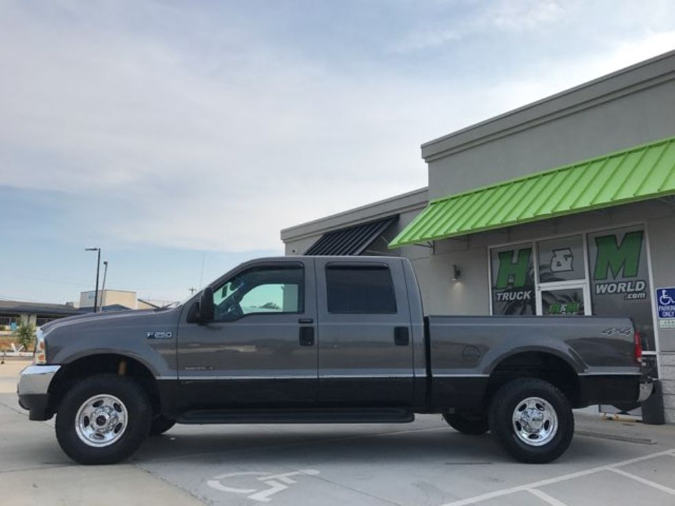 2002 Ford F250SD Lariat Super-Crew 4x4 7.3L POWERSTROKE ... Factory Wire Harness Engine Powerstroke on