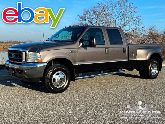 2002 Ford F350 Crew Cab 7.3L DIESEL 4X4 LARIAT 92K MILE 1-OWNER WOW