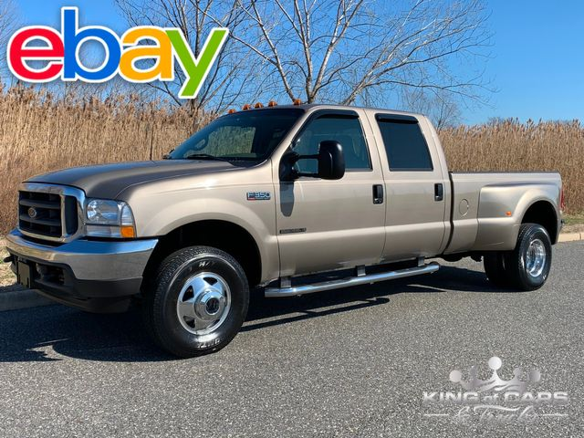 2002 Ford F350 Crew Cab 7.3L DIESEL 4X4 LARIAT 57K MILE 1-OWNER WOW in Woodbury, New Jersey 08096