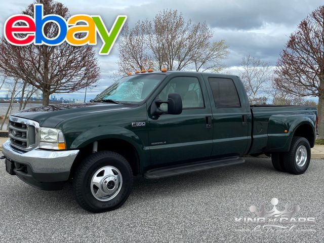 2002 Ford F350 Crew Cab 7.3L DIESEL 4X4 LARIAT 67K MILE 1-OWNER WOW in Woodbury, New Jersey 08096