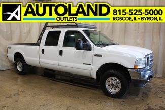 2002 Ford Super Duty F-250 Long Bed Diesel 4x4 XLT in Roscoe, IL 61073