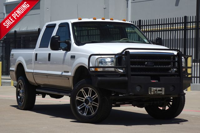 2002 Ford Super Duty F-250 Lariat* 7.3 Diesel* 4x4* Crew* Rare Truck** | Plano, TX | Carrick's Autos in Plano TX