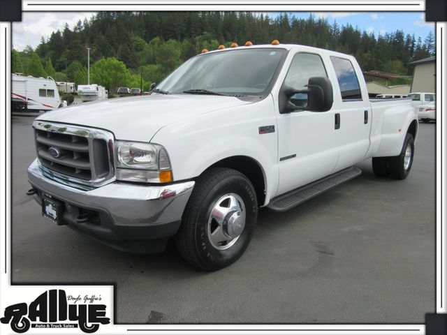 2002 Ford F350 Lariat C/Cab Dually 7.3L Diesel EXTRA CLEAN