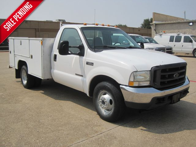 2002 Ford F350 DRW,Service/Utility, 1 Owner 7.3 Diesel, L@@k ONLY 95k Miles