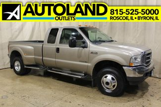 2002 Ford Super Duty F-350 Dually Diesel 4x4 Lariat in Roscoe, IL 61073
