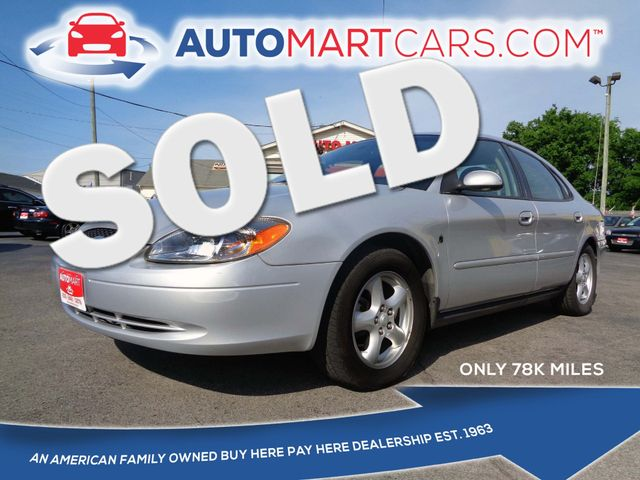 2002 Ford Taurus SES Standard | Nashville, Tennessee | Auto Mart Used Cars Inc. in Nashville Tennessee