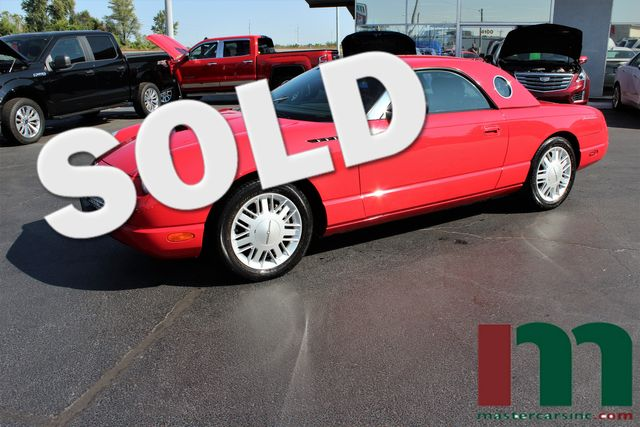 2002 Ford Thunderbird w/Hardtop Premium   Granite City, Illinois   MasterCars Company Inc. in Granite City Illinois