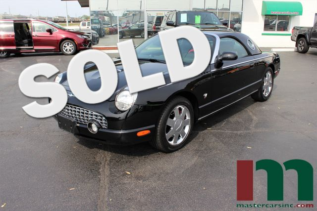 2002 Ford Thunderbird w/Hardtop Premium | Granite City, Illinois | MasterCars Company Inc. in Granite City Illinois