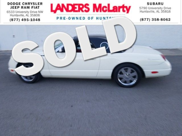 2002 Ford Thunderbird Premium | Huntsville, Alabama | Landers Mclarty DCJ & Subaru in  Alabama