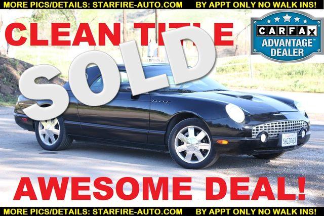 2002 Ford Thunderbird w/Hardtop Premium Santa Clarita, CA