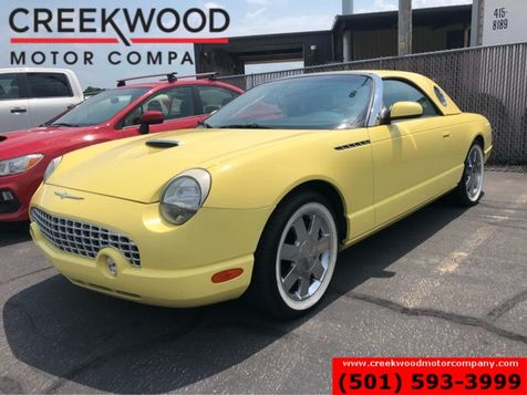 2002 Ford Thunderbird Yellow Hardtop Soft Top Premium Deluxe Low Miles in Searcy, AR