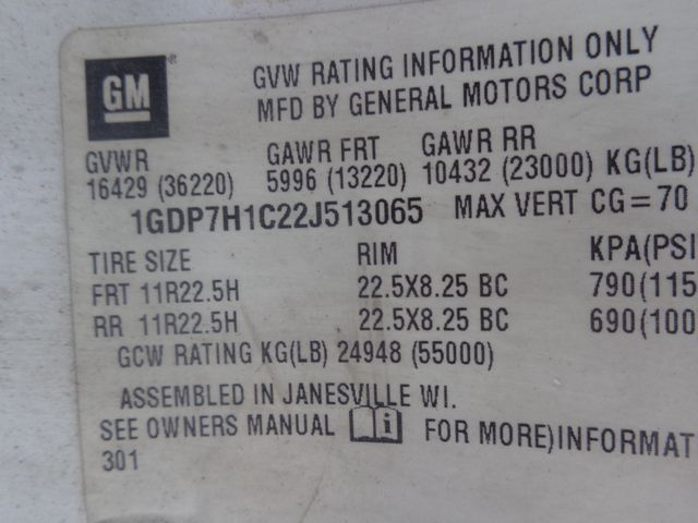 2002 GMC 8500 Hoosick Falls, New York 6