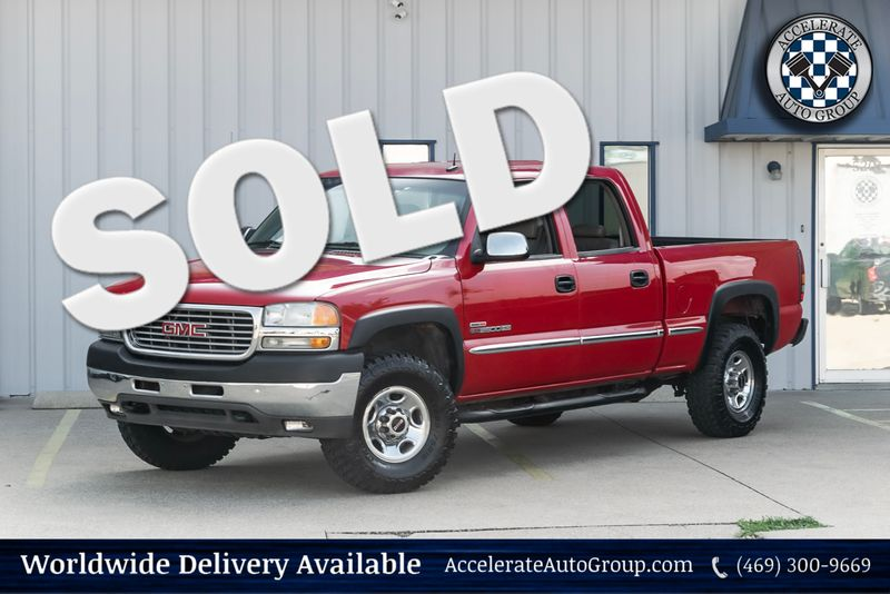 2002 GMC Sierra 2500HD SLE DURAMAX in Rowlett Texas