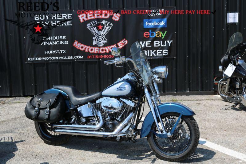 2002 Harley Davidson FLSTS HERITAGE | Hurst, Texas | Reed's Motorcycles in Hurst Texas