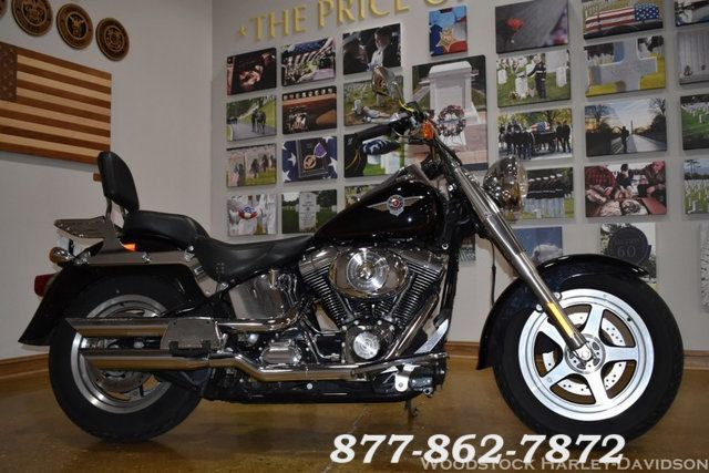 2002 Harley-Davidson SOFTAIL FAT BOY FLSTFI FAT BOY FLSTFI