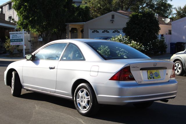 2002 Honda CIVIC DX COUPE 77K MLS 1-OWNER MANUAL SERVICE RECORDS in Van Nuys, CA 91406