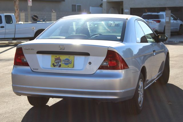 2002 Honda CIVIC DX COUPE 77K MLS 1-OWNER MANUAL SERVICE RECORDS in Woodland Hills CA, 91367