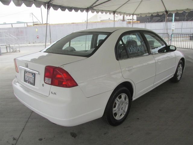 2002 Honda Civic LX Gardena, California 2