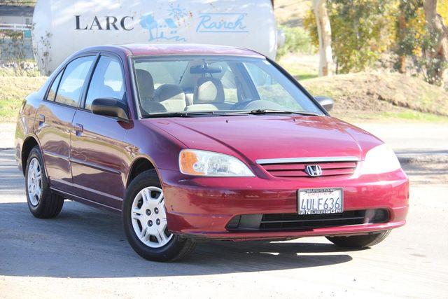 2002 Honda Civic LX Santa Clarita, CA 3