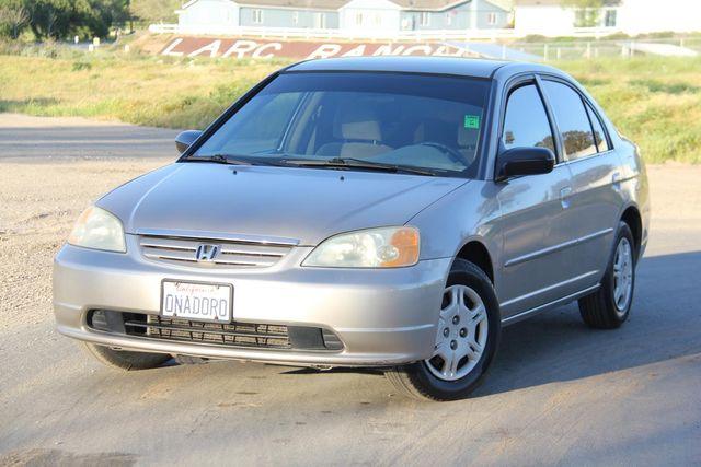 2002 Honda Civic LX Santa Clarita, CA 4