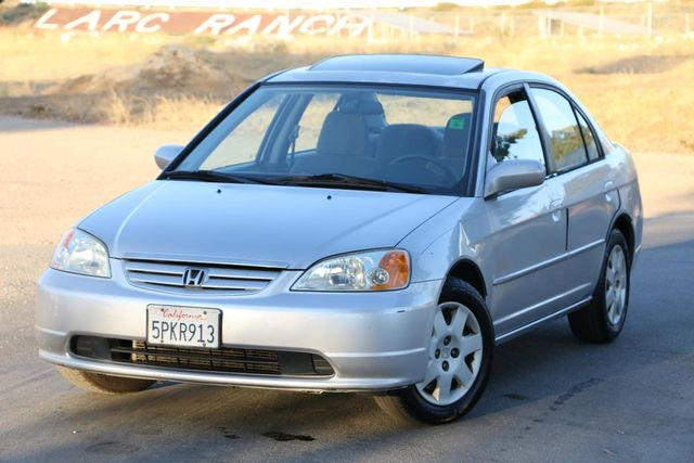 2002 Honda Civic EX Santa Clarita, CA 4