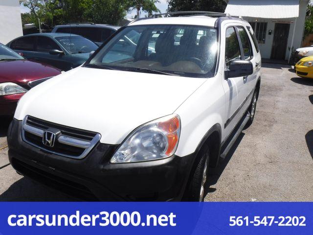 2002 Honda CR-V LX Lake Worth , Florida