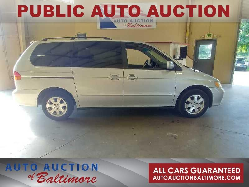 2002 Honda Odyssey EX | JOPPA, MD | Auto Auction Of Baltimore In JOPPA, ...