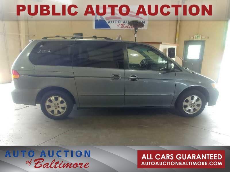 2002 Honda Odyssey EX   JOPPA, MD   Auto Auction of Baltimore  in JOPPA MD