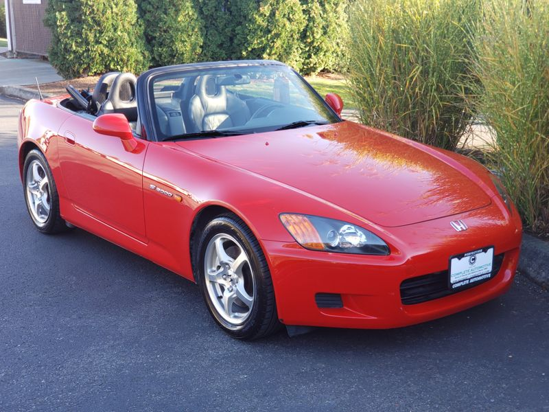 2002 Honda S2000 Roadster Only 49000 Miles 1 Owner Full History EXCELLENT  city Washington  Complete Automotive  in Seattle, Washington