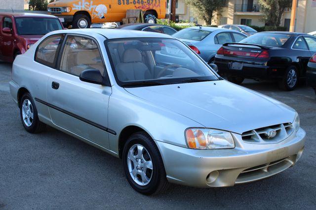 2002 Hyundai ACCENT L 1-OWNER 92K MLS MANUAL NEW TIRES in Woodland Hills, CA 91367