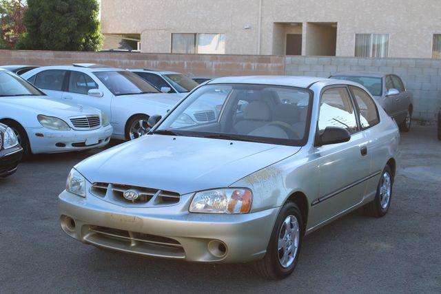 2002 Hyundai ACCENT L 1-OWNER 92K MLS MANUAL NEW TIRES in Woodland Hills CA, 91367
