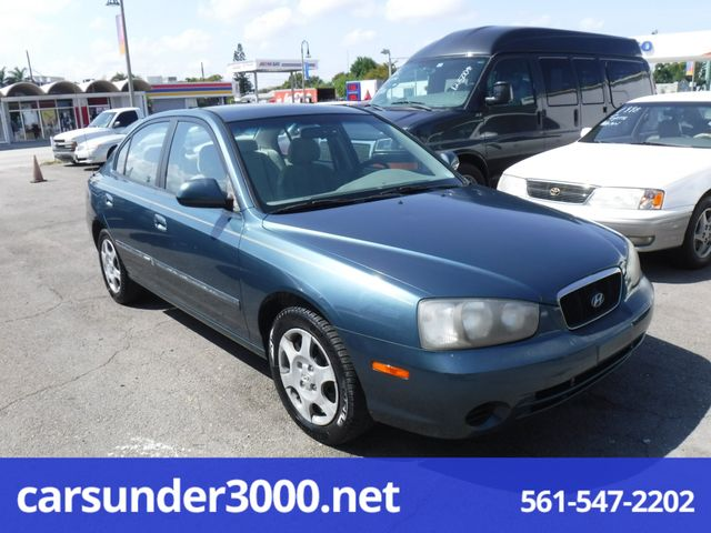 2002 hyundai elantra gls lake worth florida carsunder3000 net 2002 hyundai elantra gls lake worth
