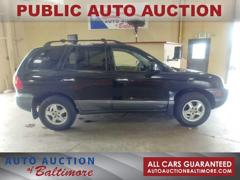 2002 Hyundai SANTA FE  | JOPPA, MD | Auto Auction of Baltimore  in JOPPA MD