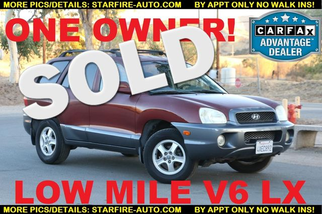 2002 Hyundai Santa Fe LX Santa Clarita, CA