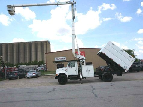 2002 International 4700 FORESTRY BUCKET TRUCK  in Fort Worth, TX