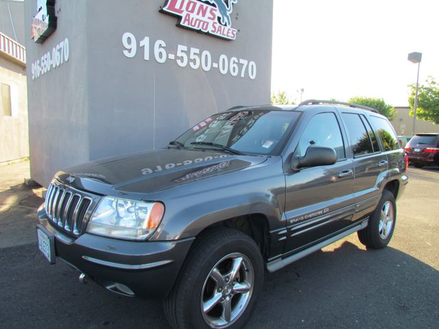 2002 Jeep Grand Cherokee Overland 4 x 4 leather