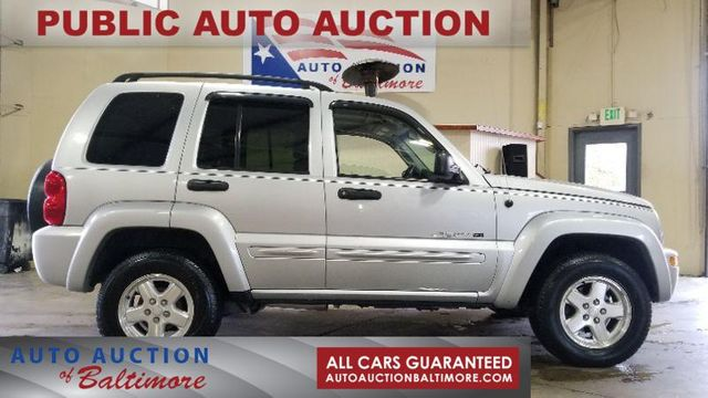 2002 Jeep Liberty Limited   JOPPA, MD   Auto Auction of Baltimore  in Joppa MD