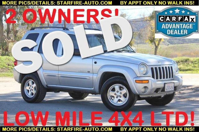 2002 Jeep Liberty Limited Santa Clarita, CA 0