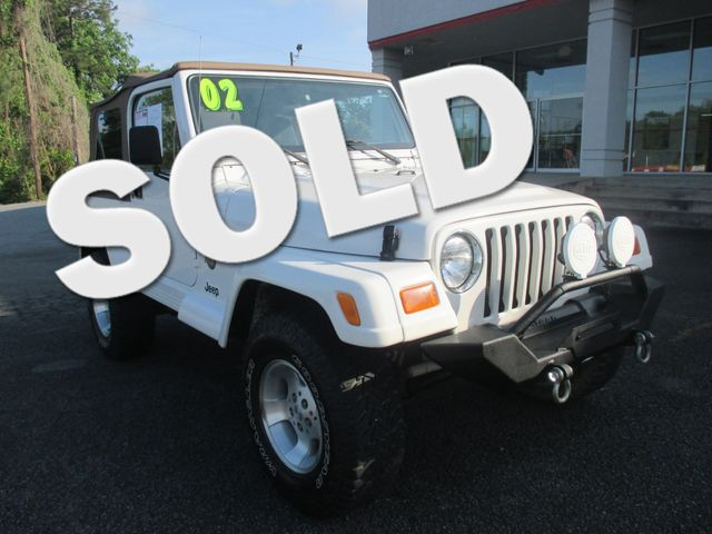 2002 Jeep Wrangler Sahara Canton , GA