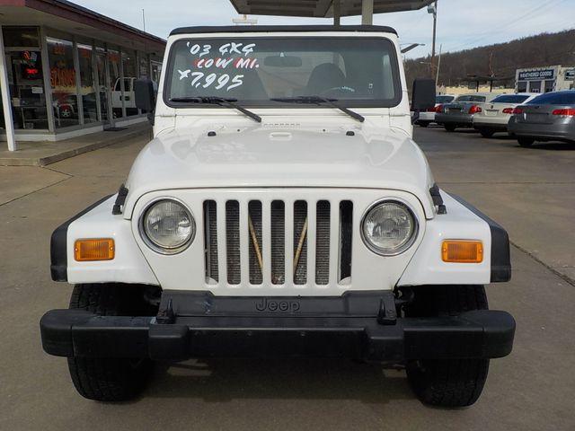 2002 Jeep Wrangler X Fayetteville , Arkansas 2