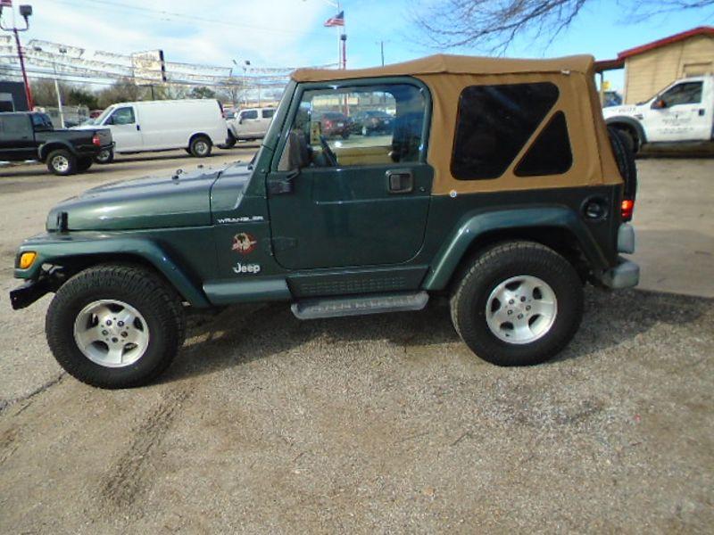 2002 Jeep Wrangler Sahara   Fort Worth, TX   Cornelius Motor Sales in Fort Worth TX