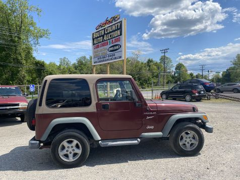 2002 Jeep Wrangler Sport in Harwood, MD