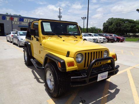 2002 Jeep Wrangler Sport in Houston